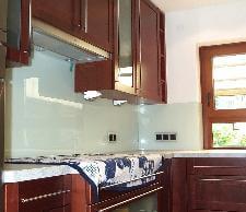 Glaserei-UTU - Küchenschild-Glas