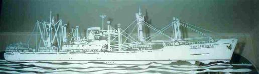 Glaserei-UTU-Sandgestrahltes-Schiff