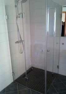 Individuelle Ganzglas Dusche